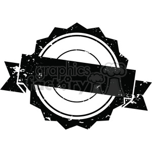 300x300 Royalty Free Grunge Vintage Old Circle Template Vector Art 400235