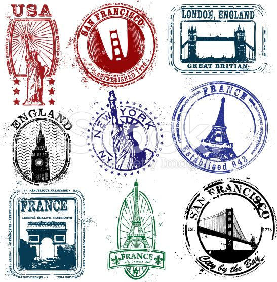 547x556 Stamp Clipart Travel Stamp