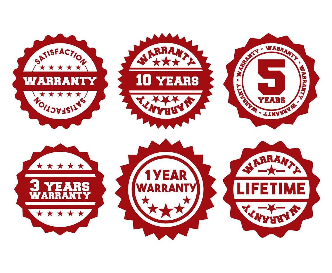 1136x936 Warranty Stamp Vector Set Vector Art Amp Graphics
