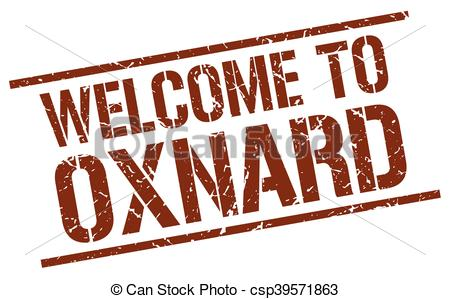 450x299 Welcome To Oxnard Stamp Clip Art Vector