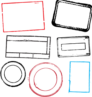 357x376 Free Blank Stamps Vector Free Vector Download 270337 Cannypic