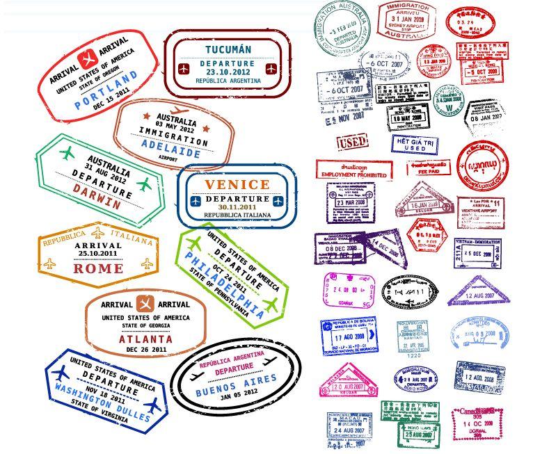 766x653 Passport Stamps