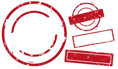 400x234 Stamp Template Vector Free Vector Graphics