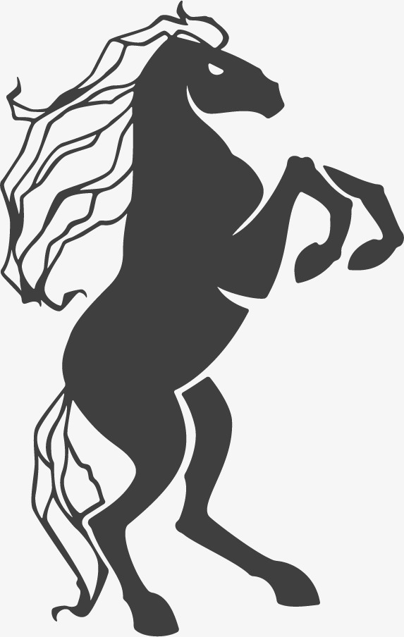 573x904 Stand Up Horse Vector Material, Horse Clipart, Standing Horse