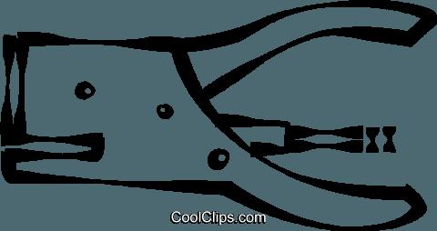 480x254 Staple Gun Royalty Free Vector Clip Art Illustration Vc022521