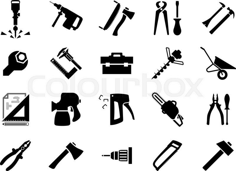 800x582 Hammers, Screwdrivers, Axes, Saws, Pliers, Jackhammer, Crowbar