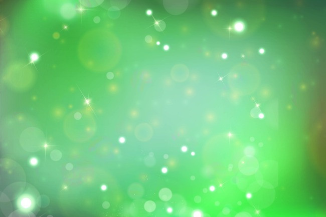 650x433 Bright Green Star Background Vector Material, Ai, Light, Luster