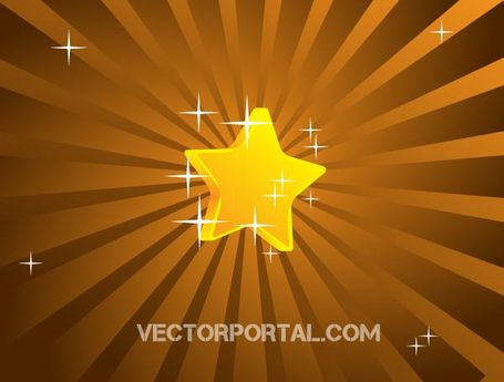 455x345 Free Vector Retro Star Background Design Clipart And Vector