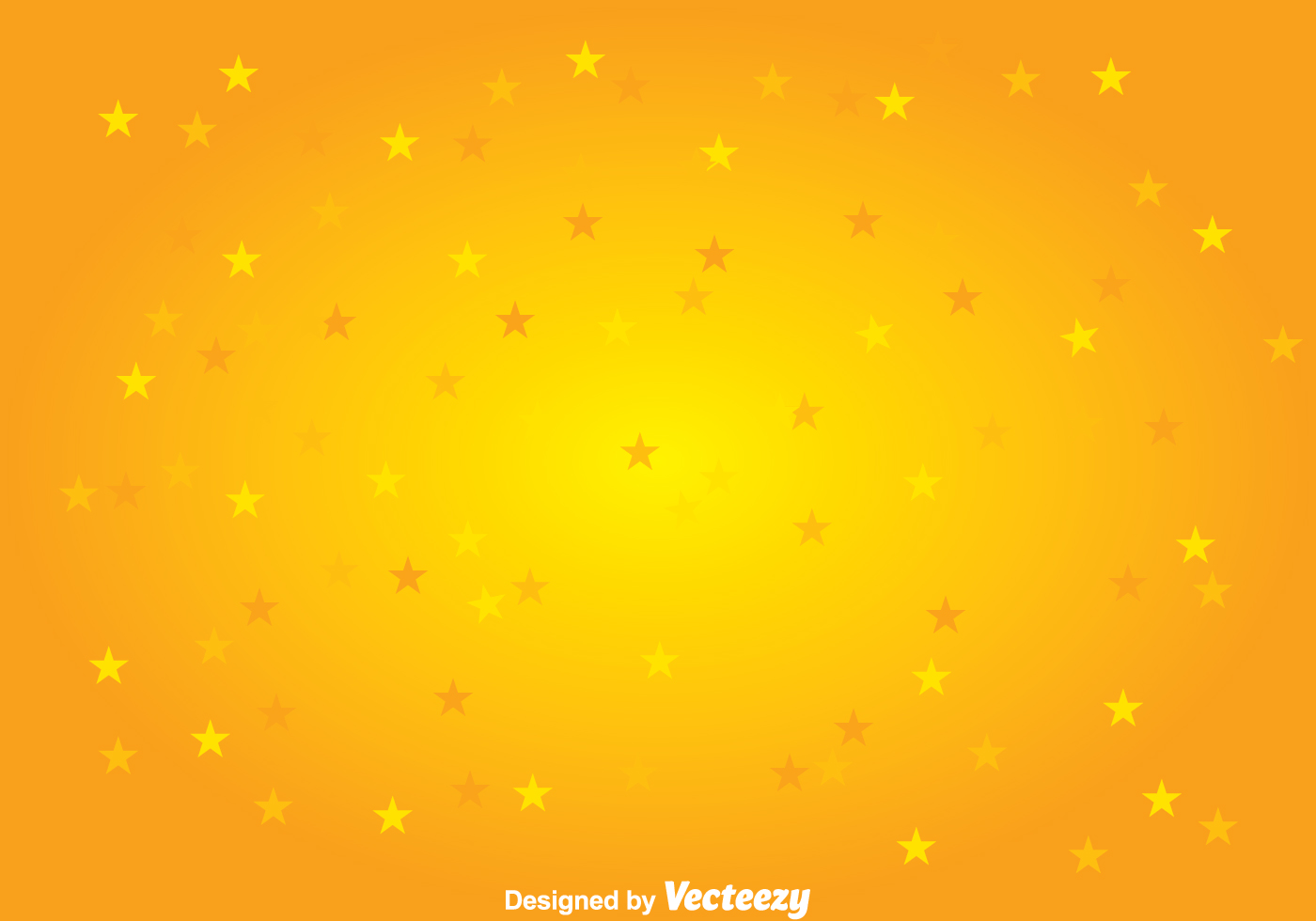 1400x980 Free Vector Yellow Stars Background Vector