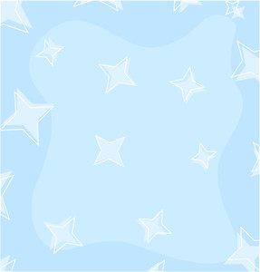 287x300 Gold Star Background. Vector Royalty Free Stock Image