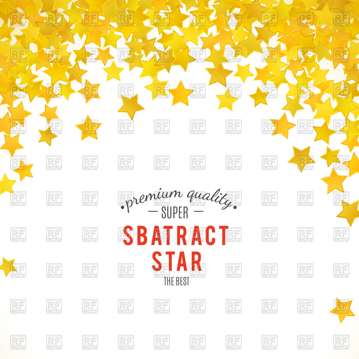 1200x1200 Abstract Yellow Star Background Vector Image Vector Artwork Of