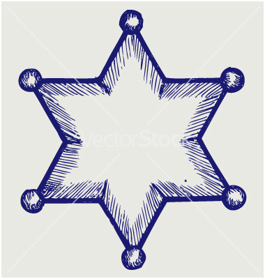 380x400 Sheriff Badge Vector Free Awesome 20 Police Star Vector Sheriff