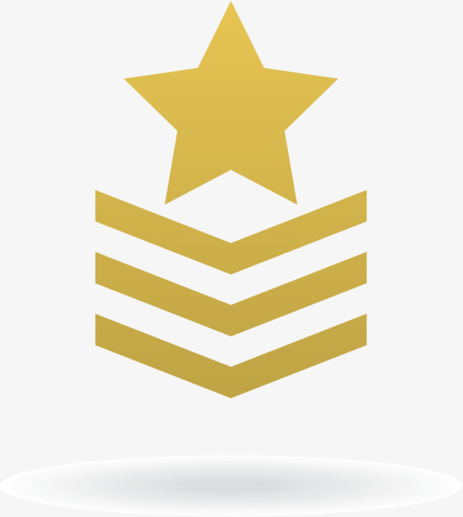 650x726 Star Badges, Military Academy, Army, Troops Png And Vector For