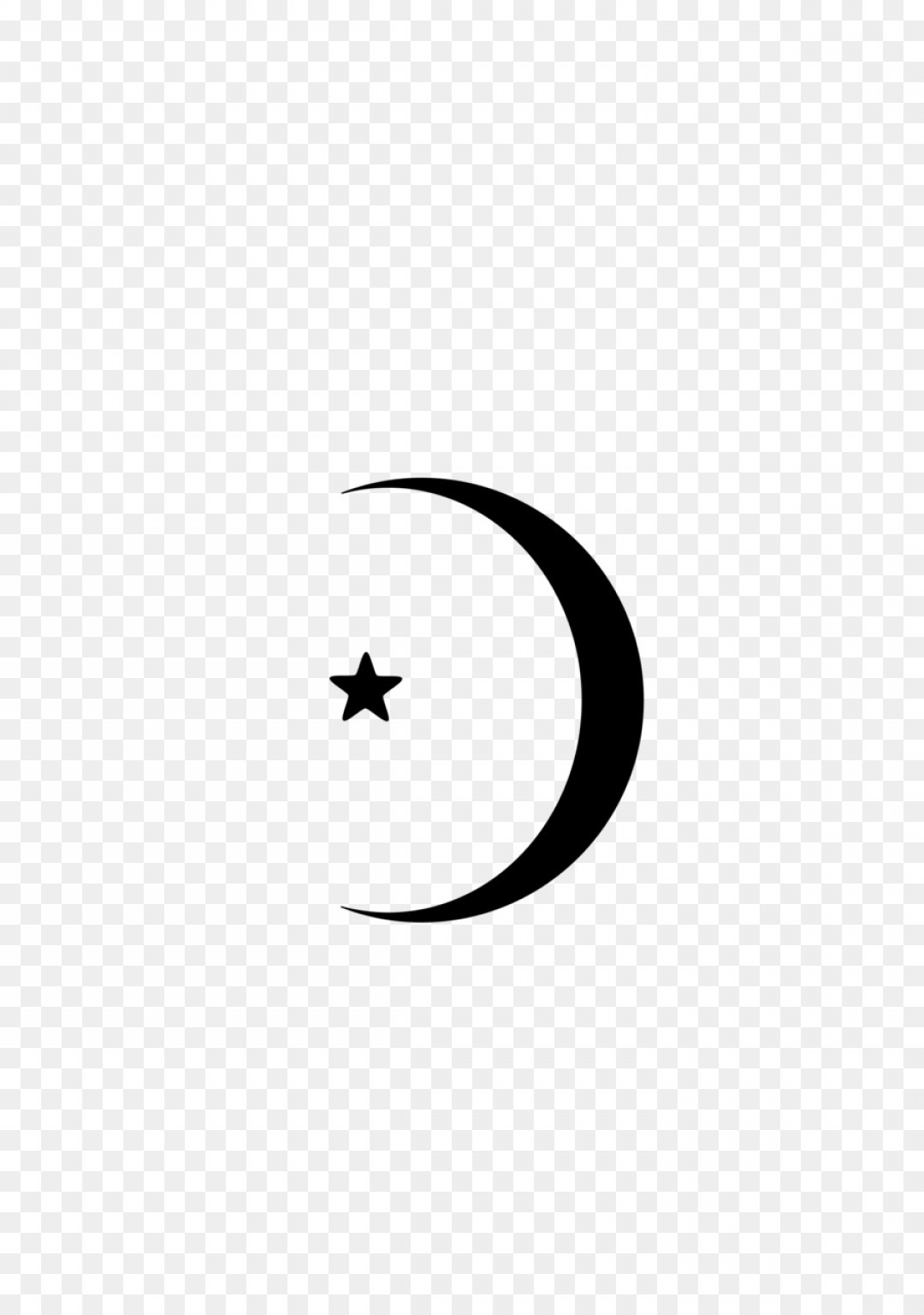 1080x1536 Crescent Moon Transparent Circle Vector Sohadacouri