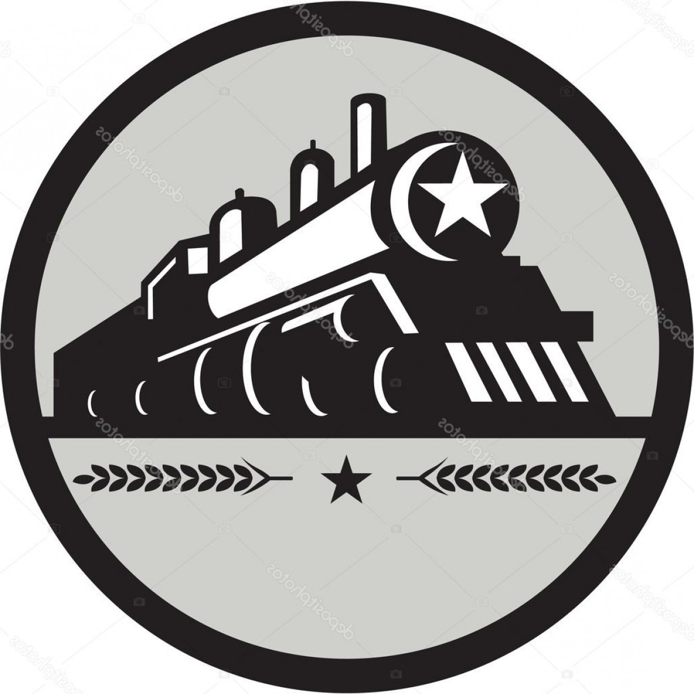 1226x1228 Stock Illustration Steam Train Locomotive Star Circle Sohadacouri
