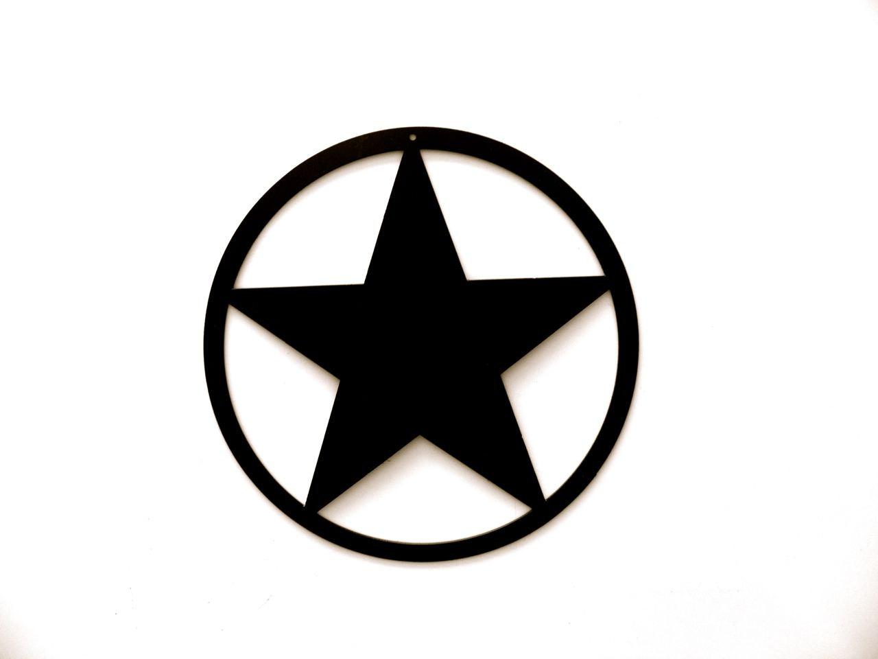 1280x960 Black Star In Circle Logos