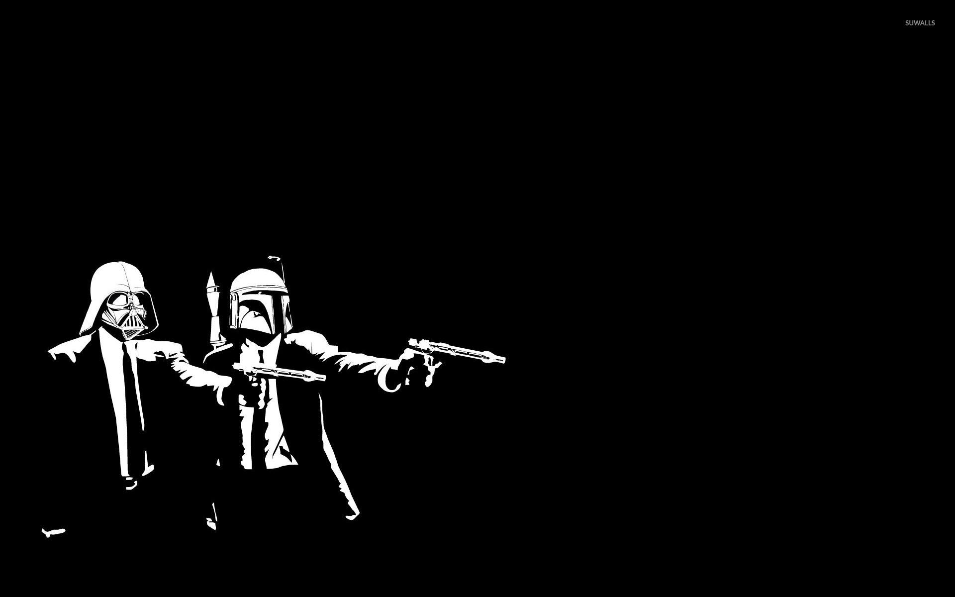 1920x1200 Pulp Fiction Star Wars Crossover Wallpaper