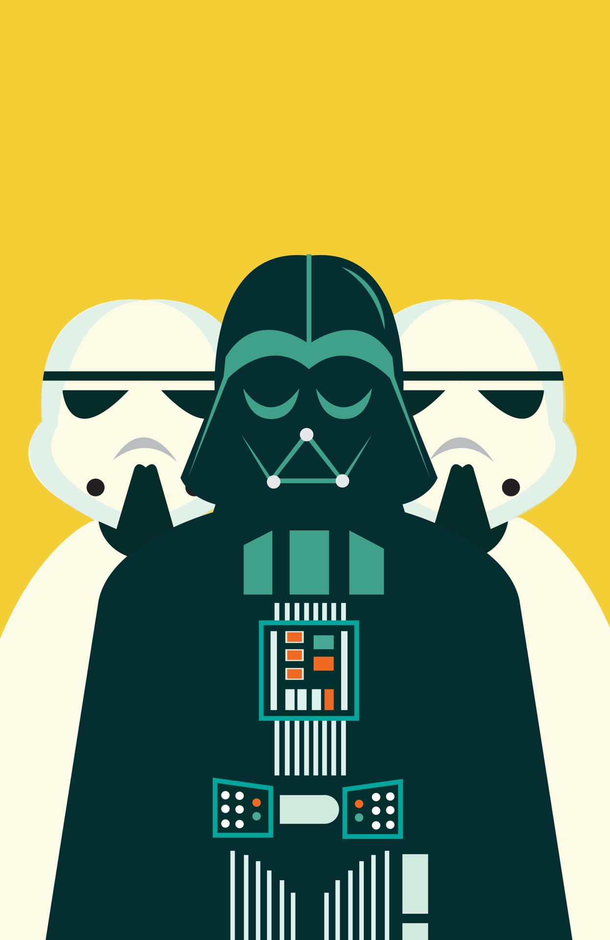 1246x1920 Tiefighters Star Wars