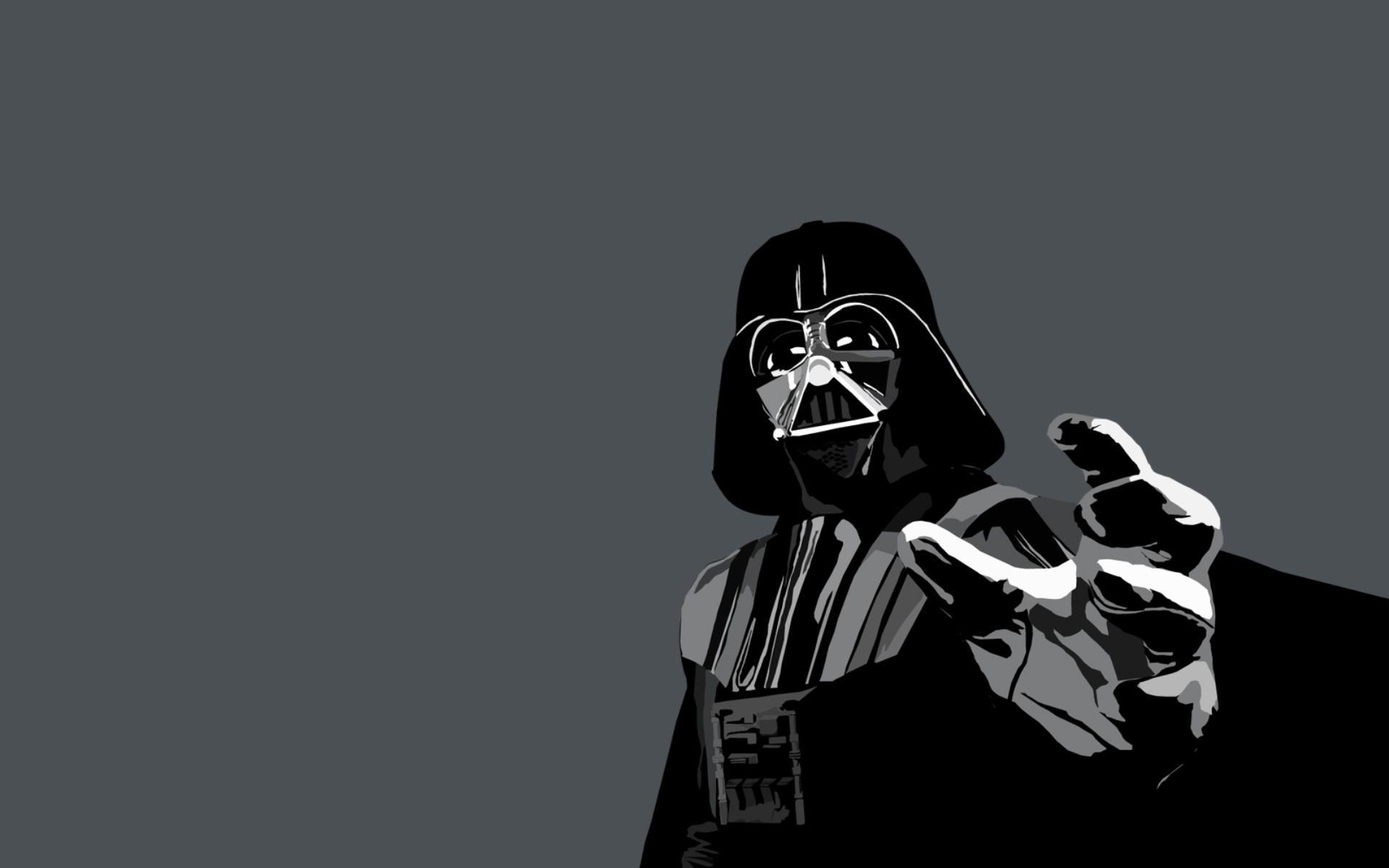 1920x1200 Vector Grey Movie Star Wars Black Darth Vader Vector,grey,movie
