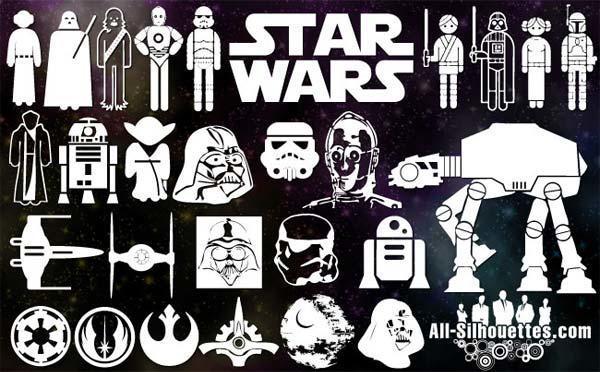 600x372 Vector Star Wars Symbols Free 123freevectors