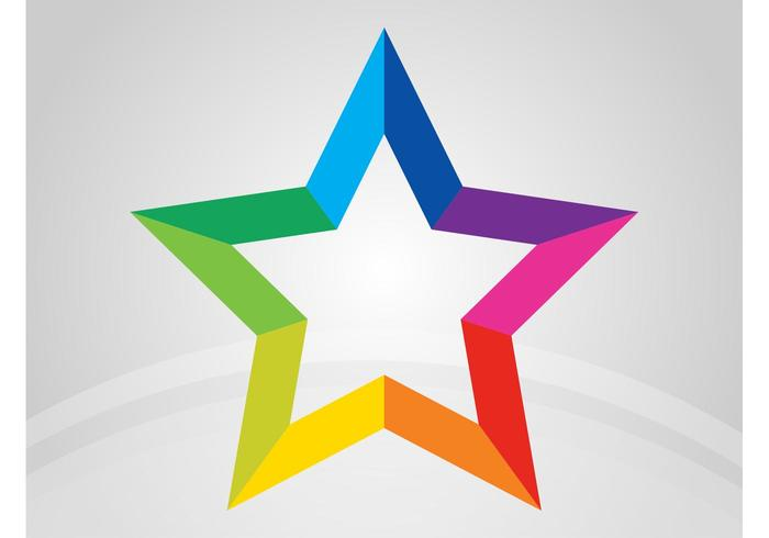 700x490 Star Logo Free Vector Art