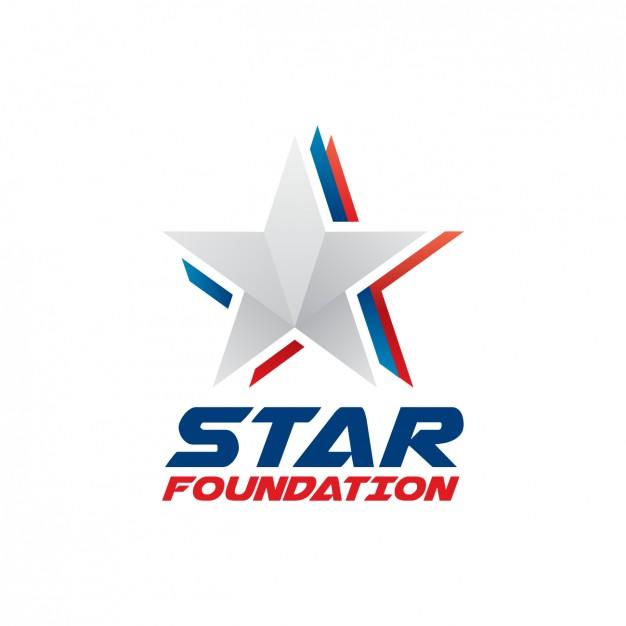 626x626 Star Foundation Logo Vector Free Download