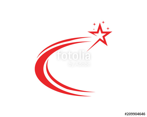 500x400 Star Logo Vector And Template Icon Stock Image And Royalty Free