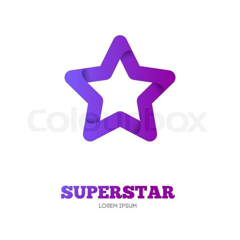 800x800 Star Vector Logo Template. Star Emblem. Celebrity Star, Champion