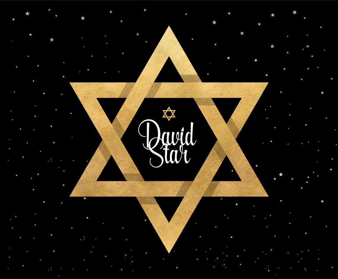1136x936 Origami Golden Star Of David Vector Art Amp Graphics