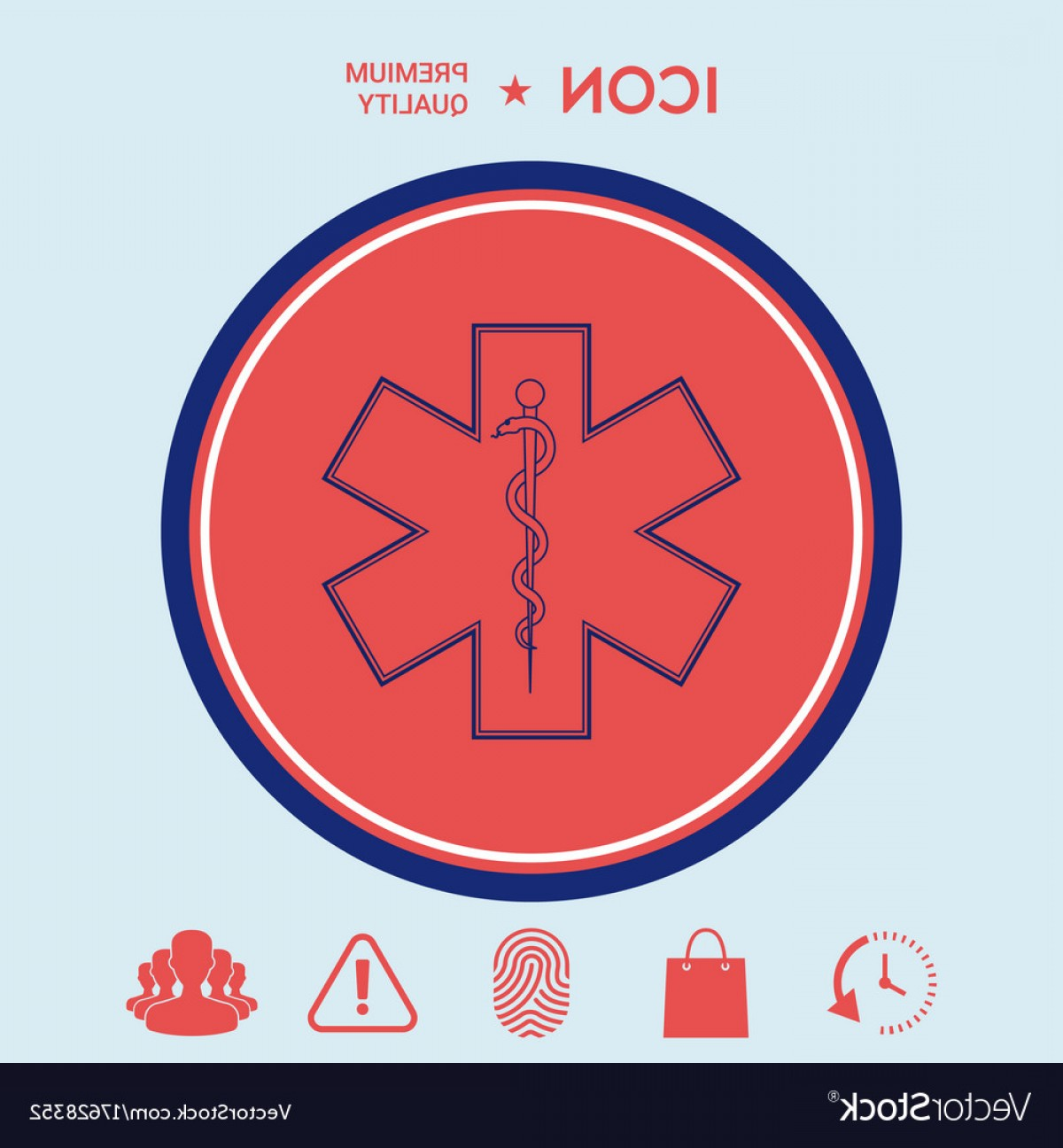 1200x1296 Medical Symbol Of The Emergency Star Of Life Vector Orangiausa