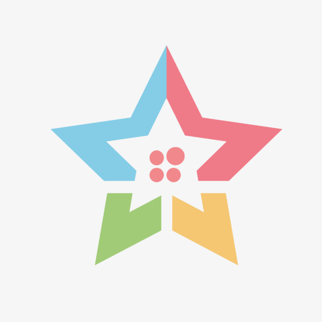 650x651 Ppt Five Pointed Star Shape Vector, Star Vector, Five Pointed Star