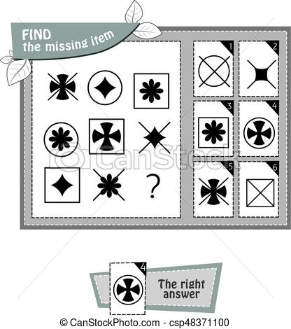 416x470 Black Shape Game Star Shape. Visual Game For Children Summer. Task