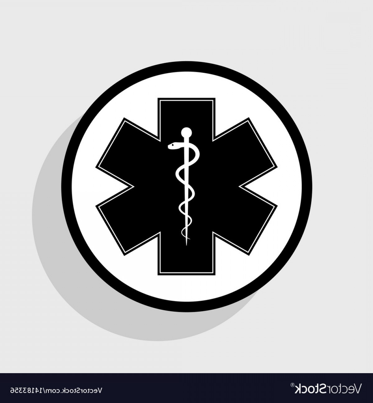 1200x1296 Medical Symbol Of The Emergency Or Star Of Life Vector Rongholland