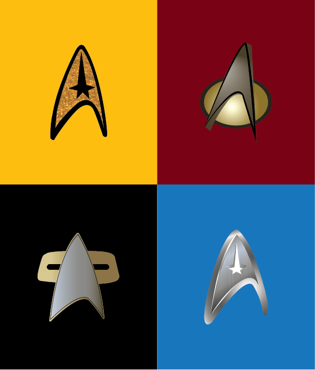 612x720 Playing With Creating Textures Vector Star Trek Pop Art On Behance