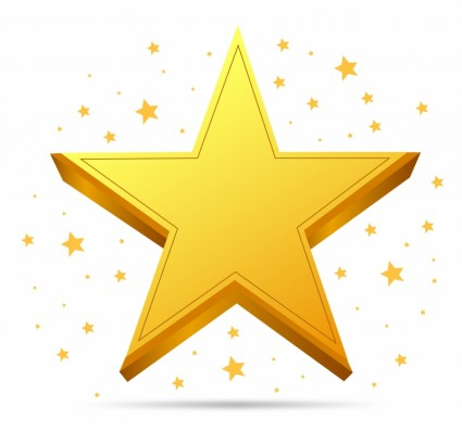 425x396 Free Star Vector