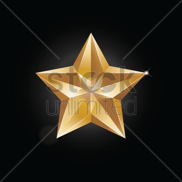 600x600 Free Star Vector Image