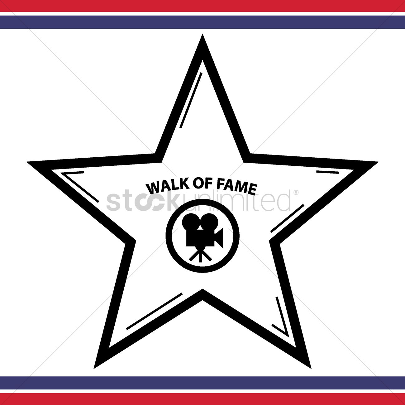 1300x1300 Walk Of Fame Star Vector Image