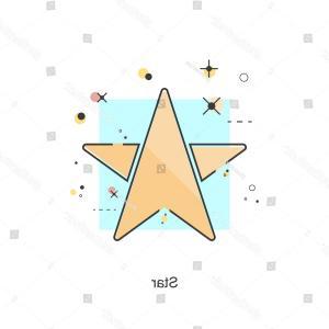 300x300 Stock Illustration Crown Star Design Graphic Vector Art Created