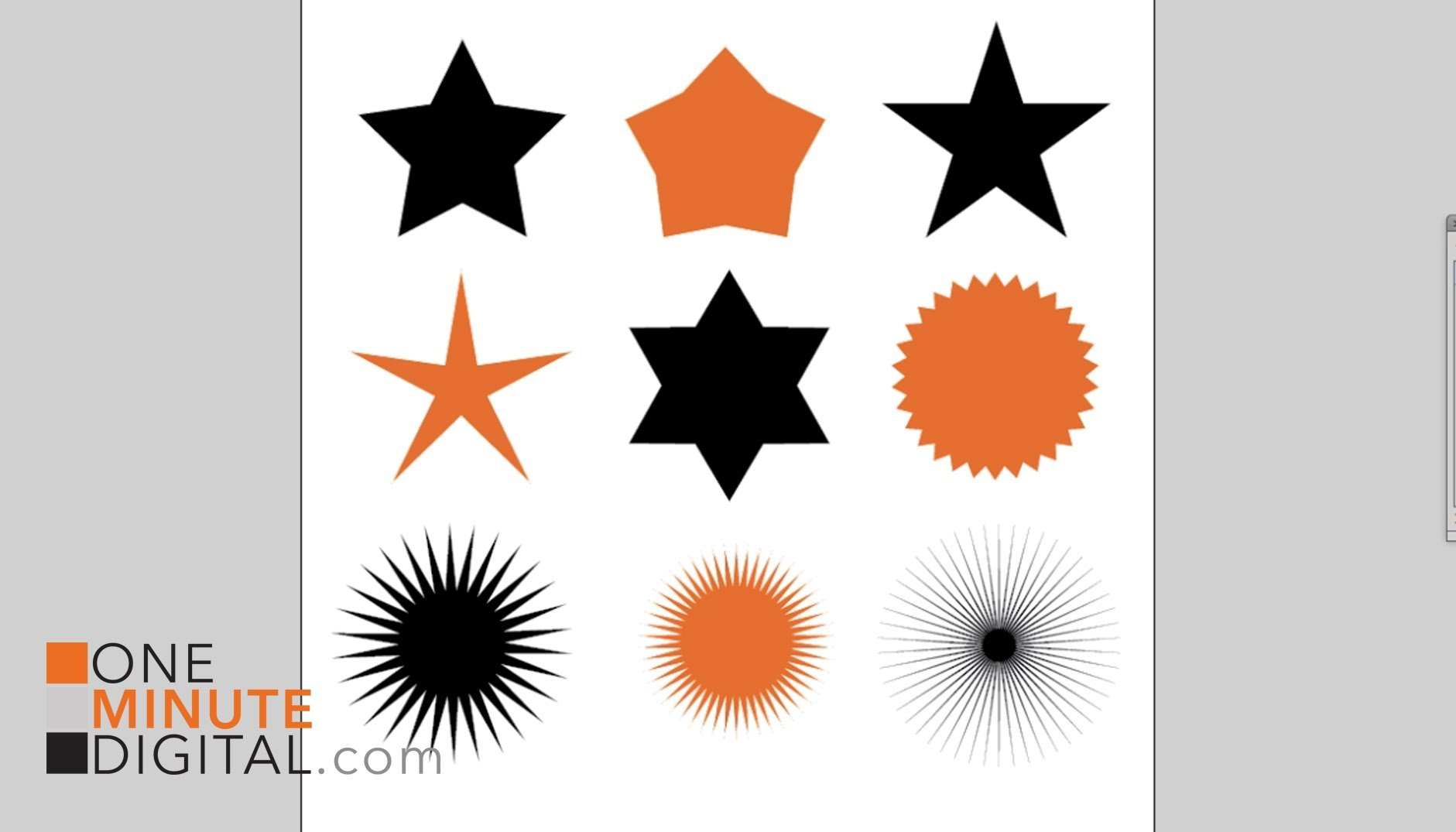 1881x1075 Change The Default Star Shape In Illustrator Tutorial