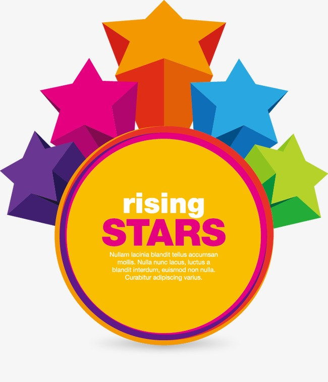 650x756 Vector Rising Star, Star Vector, Star, Rising Star Png And Vector
