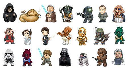 450x250 Resultado De Imagen Para Star Wars Characters Vector A Kind Of