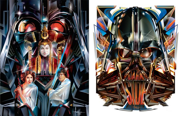 740x472 Star Wars Themed Print Amp Vector Art By Orlando Arocena