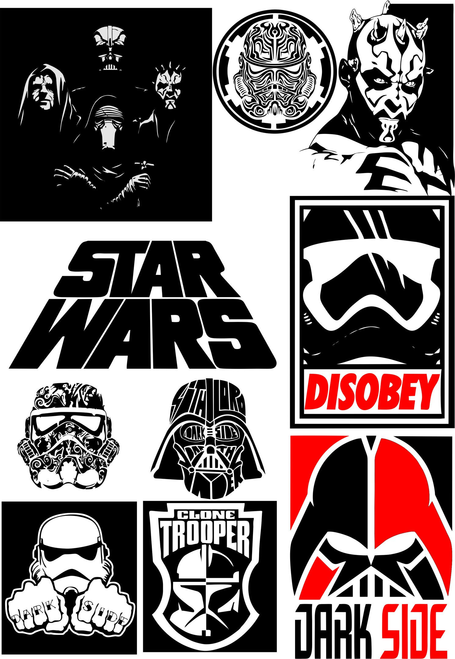 Star Wars Vector Free Download at GetDrawings com | Free for