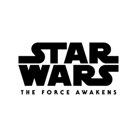 280x280 Star Wars The Force Awakens Logo Vector Free Download