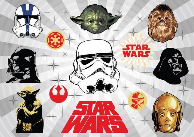 646x457 Star Wars Vector Free Vector Download In .ai, .eps, .svg Format