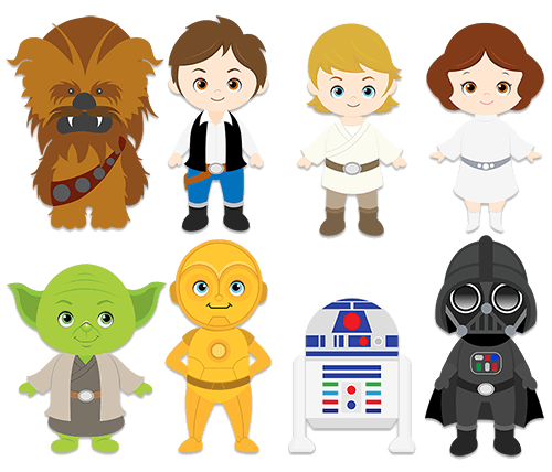 Star Wars Vector Graphics