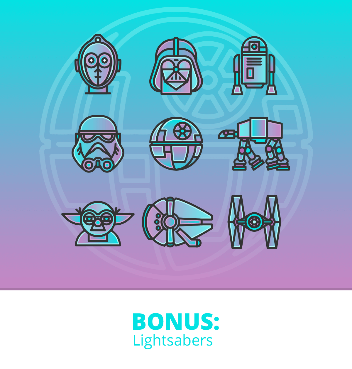 Star Wars Vector Icons