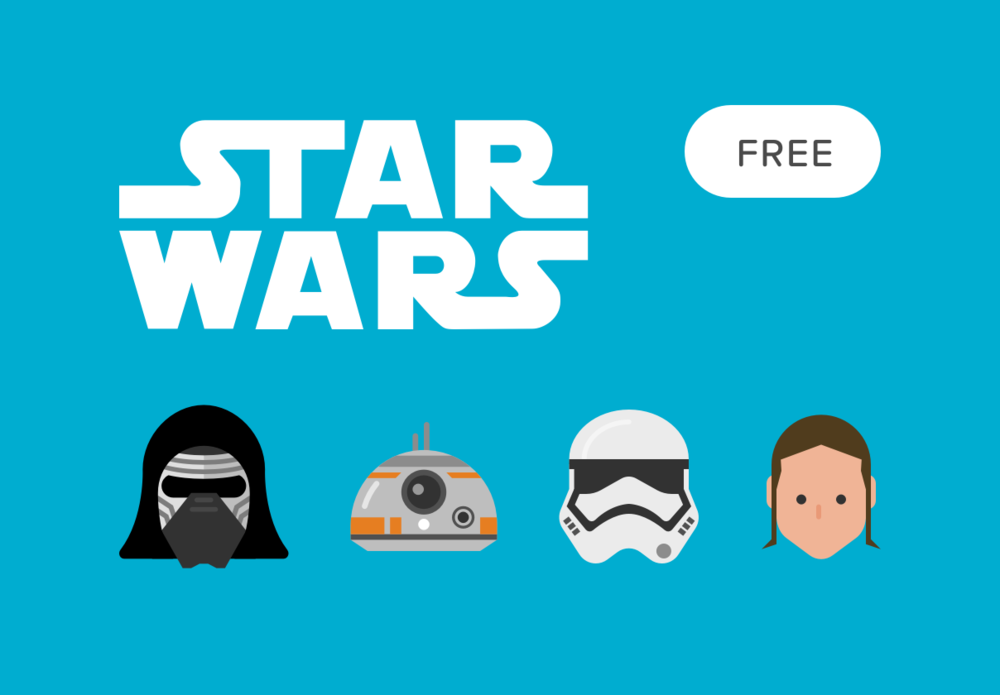 1000x695 Top 10 Free Star Wars Vector Icon Sets Hipsthetic