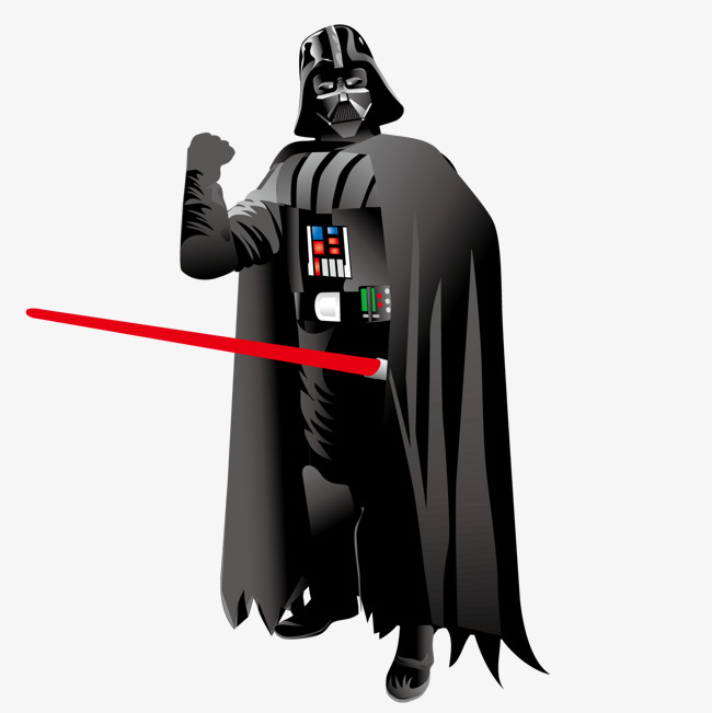 650x651 Vector Star Wars, Star Vector, Man In Black, Lightsaber Png And