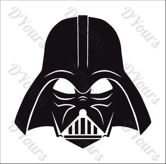 570x562 Darth Vader Star Wars Vector Model Svg Cdr Ai Pdf Eps Files Etsy